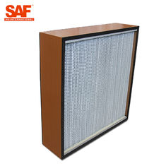 De Deap Geplooide Cleanroom Filter van Hepa met Document of Aluminiumfolie Separater